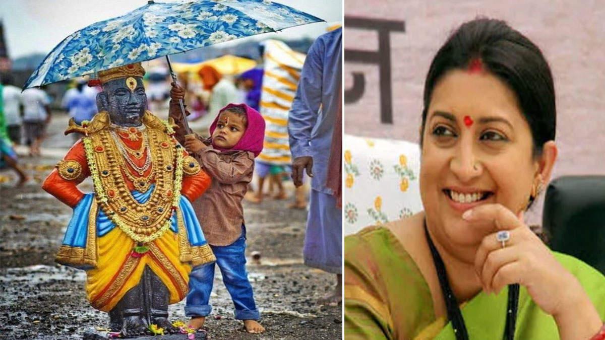 वारिश में भीग रहे भगवान, बच्चा भाग कर गया और छतरी लगाकर पूरे इंडिया का दिल जीत ले गया!