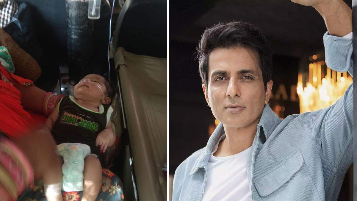 दरियादिली! मजदूर की 6 दिन की बेटी के दिल में छेद, अब मुंबई में इलाज कराएंगे सोनू सूद