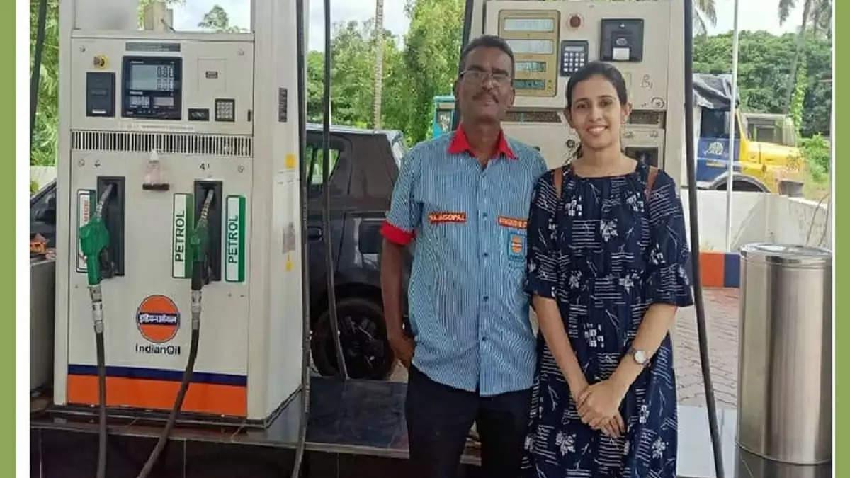 petrol pump attendants daughter securing entry in iit kanpur