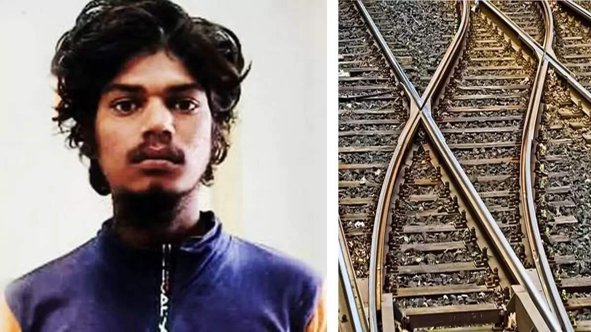 rape murder case accused dead body found railway track