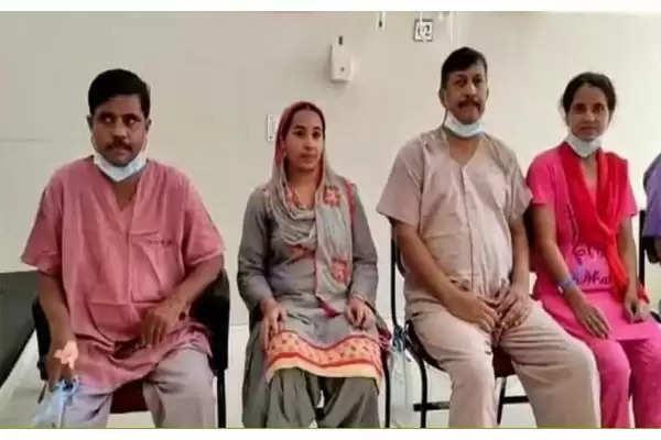 wife save husband life