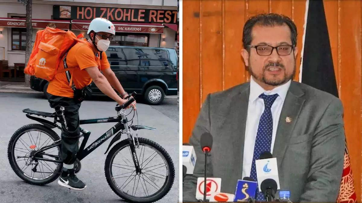 afghan minister syed ahmad sadat