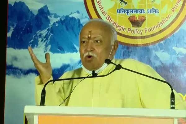 RSS Chief Mohan Bhagwat 3