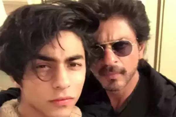 Shahrukh khan with his son