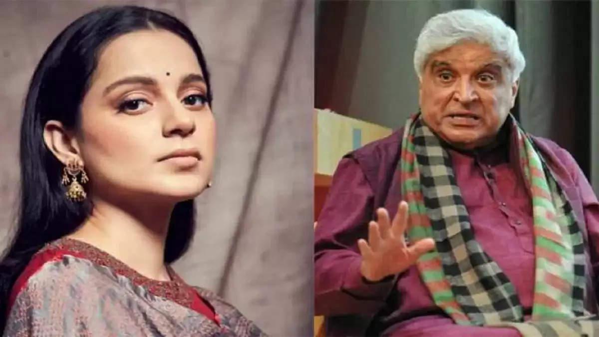 Kangna Ranaut and Javed akhtar
