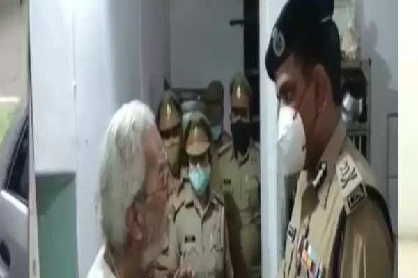 IPS aseem arun helped old couple
