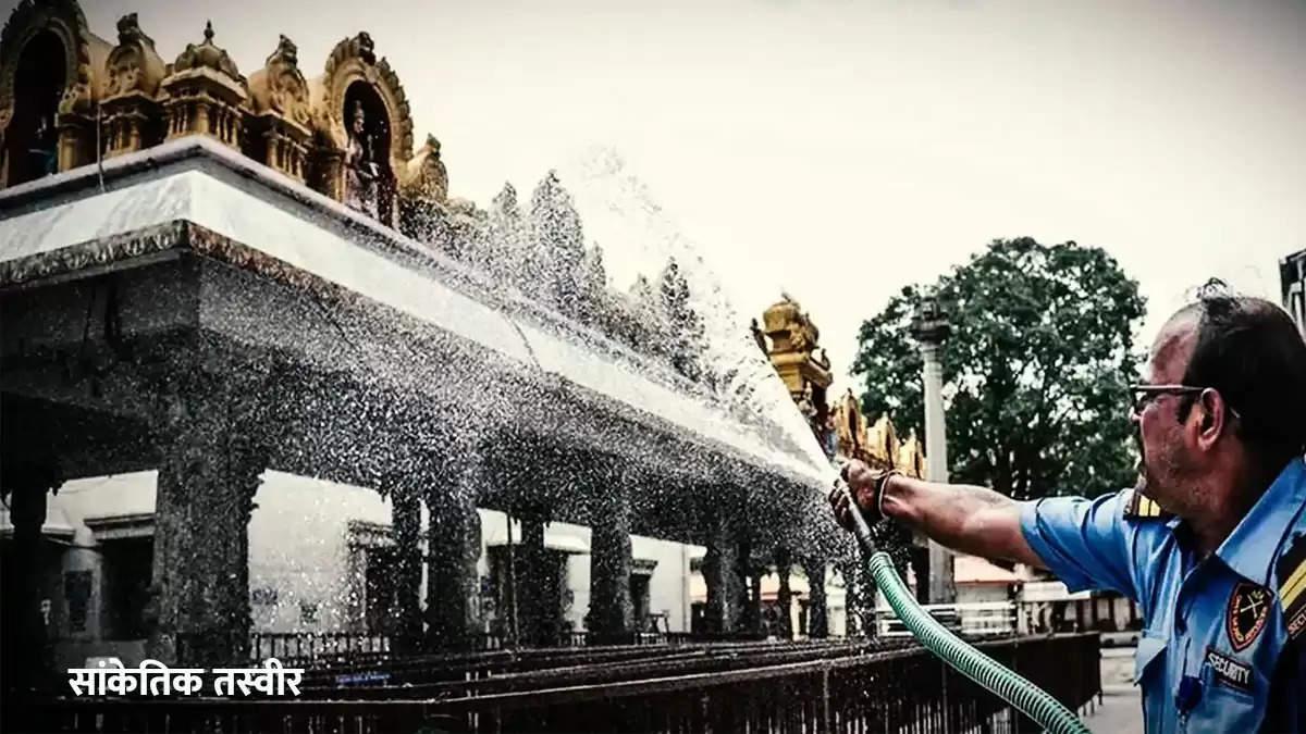 2 years dalit child ran into temple in karnataka