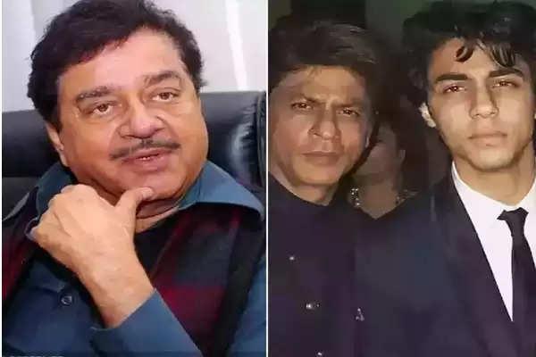 Shatrughan Sinha Support shahrukh khan and her son aryan khan